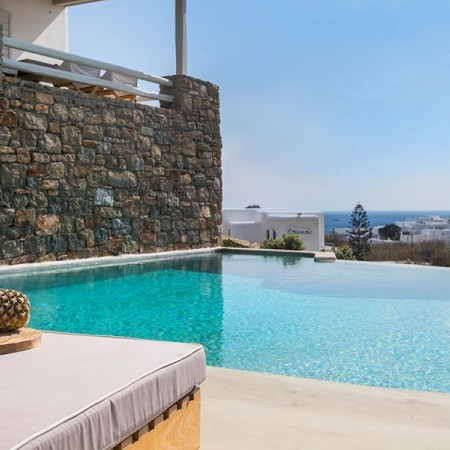 villa in Mykonos with walking distance to beach