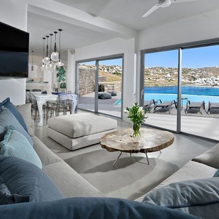 luxurious and sensational villa rental in Mykonos