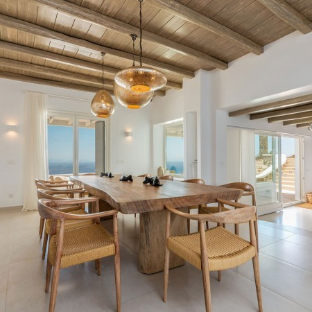 mykonos villa for rent close to elia beach