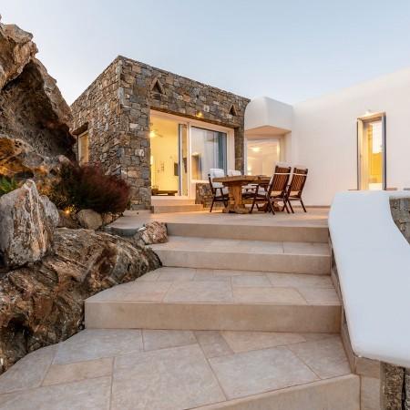 myconos villa rental at elia beach