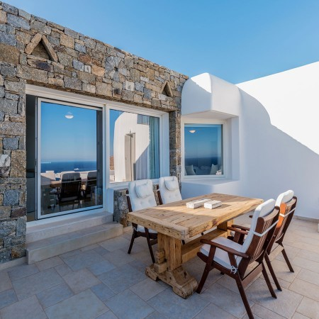 villa for large groups Mykonos