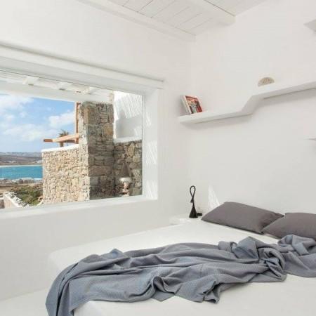 villa rental Ftelia mykonos