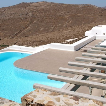 Mykonos Villa for rent Lia area