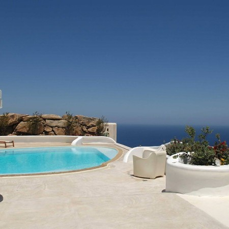 mykonos large villa for rent
