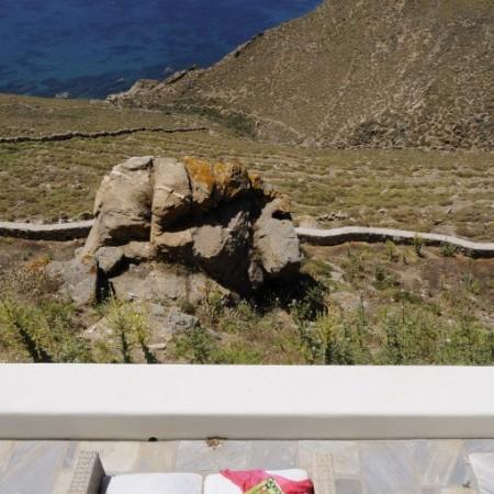 mykonos villa sea view