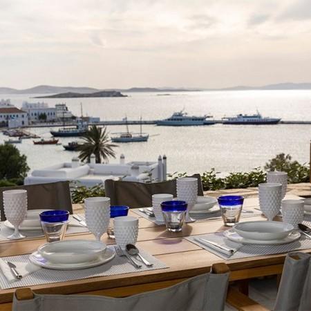 villa for rent Mykonos town