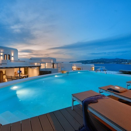 4 bedroom villa rental in Ornos Mykonos