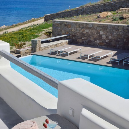 7 bedroom villa for rent in Ornos Mykonos