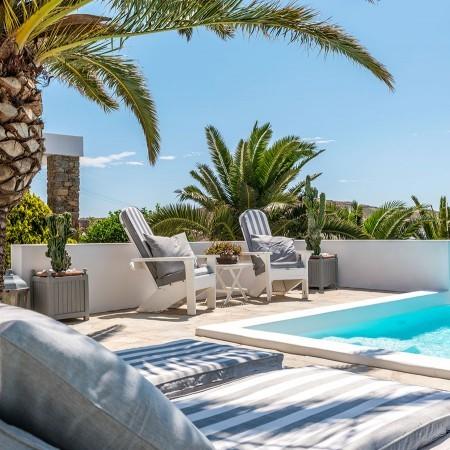 villa for rent elia beach