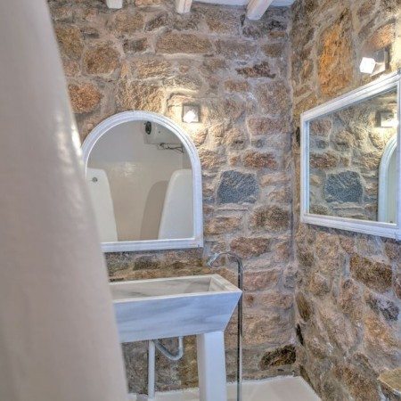 stone built bathroom