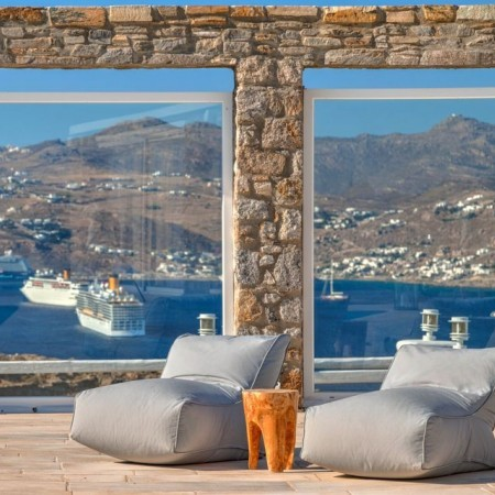 villa for rent ornos mykonos