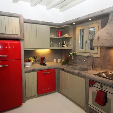 villa castle one kitchen