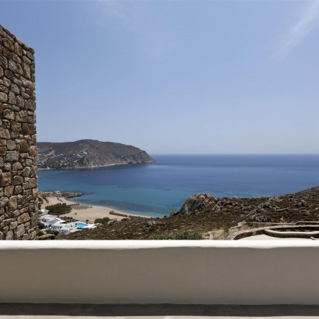 villa view to agrari beach