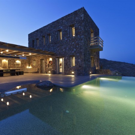 Mykonos villa castle two night