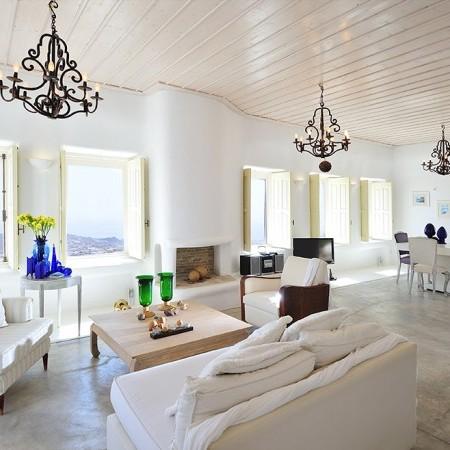 villa orsalia main living room