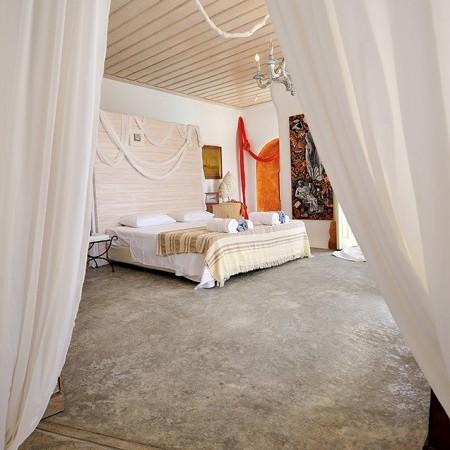 villa orsalia master bedroom