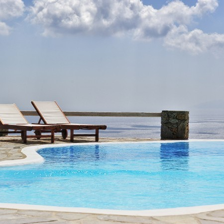 villa orsalia pool