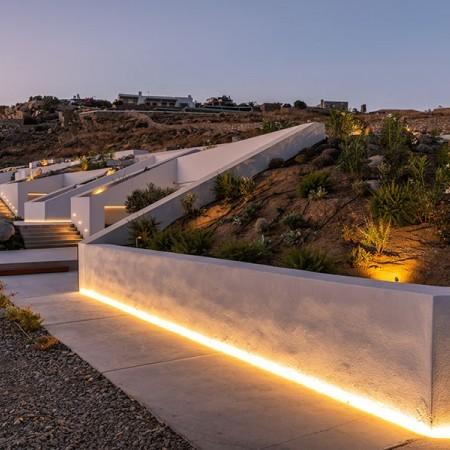 modern villa for rent Mykonos