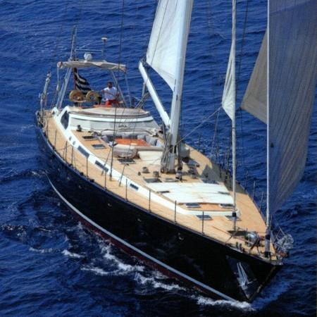 luxury yacht Wind of Change