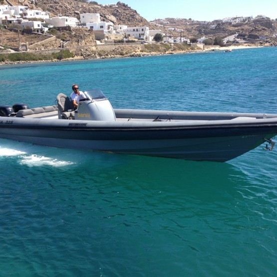 mykonos boat rental