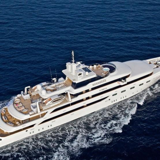 Omega Mega Yacht Charter