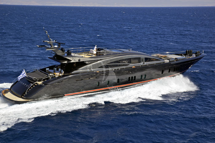 O Pati Yacht Charter Luxury Yacht Charters Greece Mykonos Gold